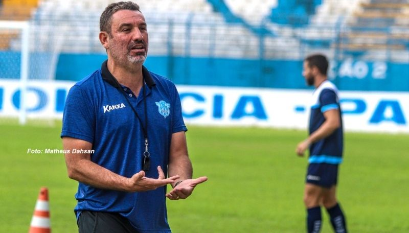 O novo treinador do Marília, Guilherme Alves, fará mudanças contra o Batatais