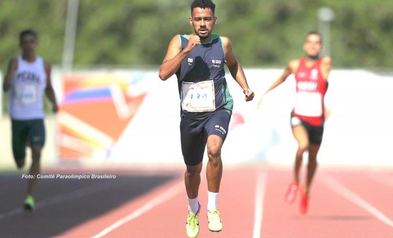 """Daniel Martins """"carimbou""""  seu passaporte para os Jogos Parapan e Mundial de Atletismo Paralímpico"""