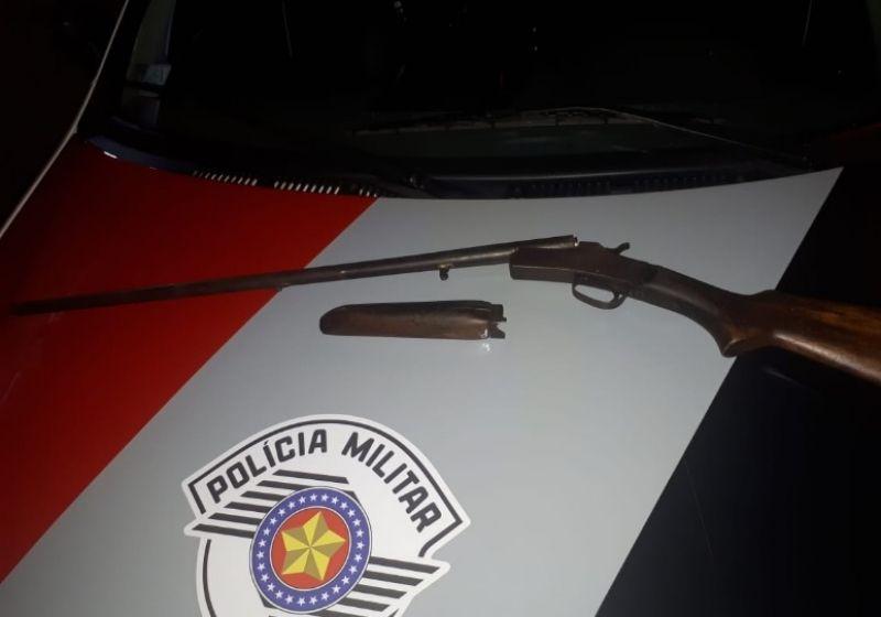 A Polícia de Ribeirão do Sul conseguiu apreender a arma utilizada no crime durante churrasco