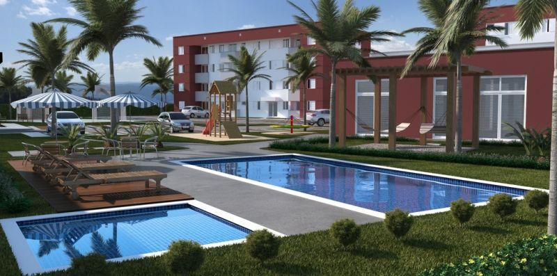 O residencial Murano tem 240 apartamentos de dois dormitórios.