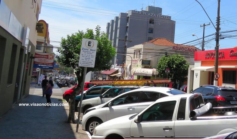 Zona Azul volta a funcionar em Marília a partir do dia 6. Cartela custará R$ 1,50