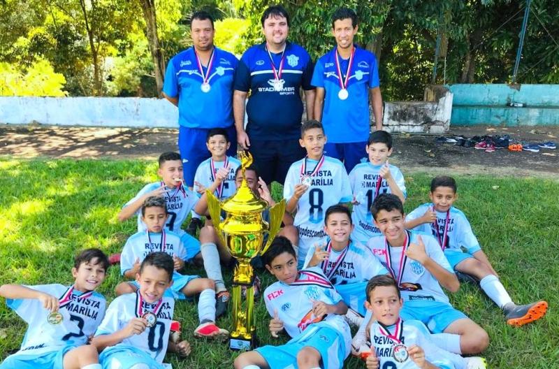 Marília é campeã  do 47º Campeonato Estadual de Futebol Infantil