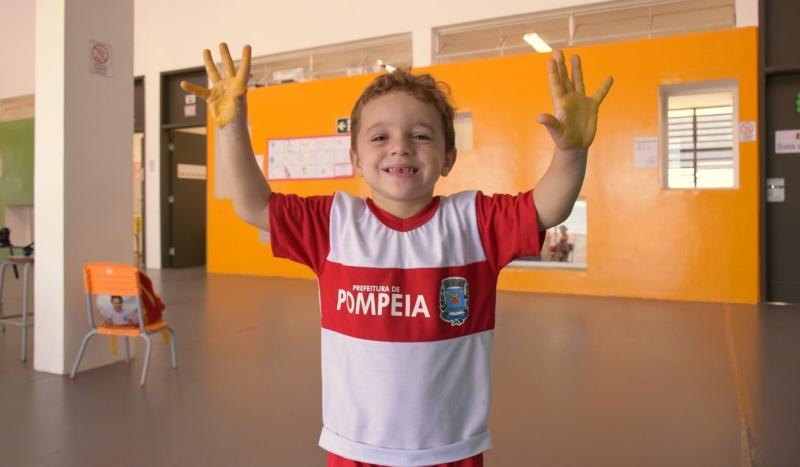 Creches municipais de Pompeia retomam as atividades nesta quinta