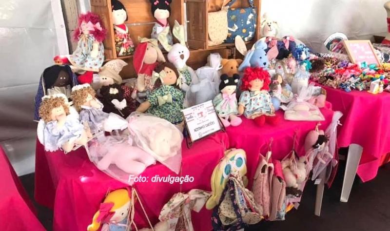 Mulheres Empreendedoras: feira de artesanato prossegue hoje em Marília