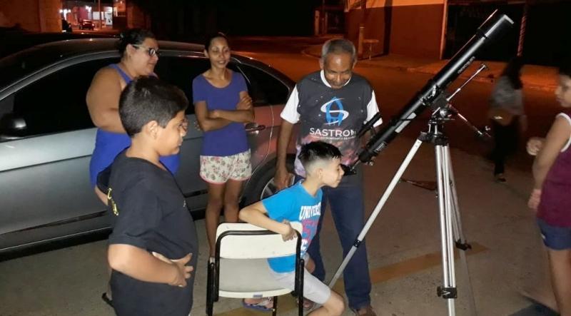 Cultura e Sastrom realizam exposição Astronômica na Biblioteca Municipal