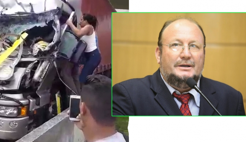 Após morte de Ricardo Boechat, deputado propõe criminalizar quem filma acidente e não presta socorro