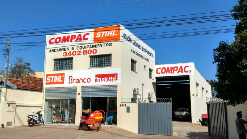 Construção civil  em novas instalações, Compac é destaque na venda e locação  de equipamentos   Visão Notícias - Informações de Marília e região 9de897bc1d