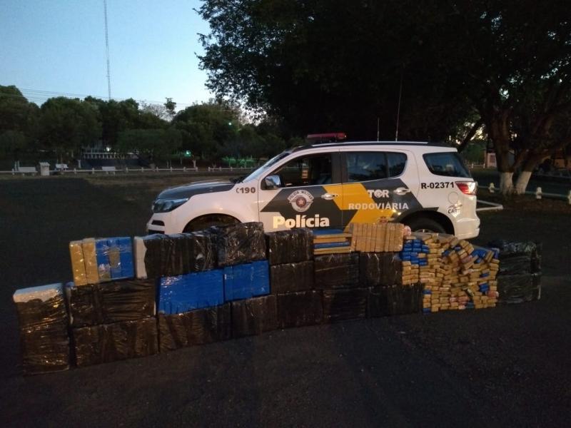 Polícia apreende mais de 660 quilos de maconha na região