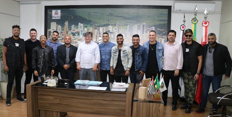 Grupo Samba Show anuncia gravação de DVD em Marília