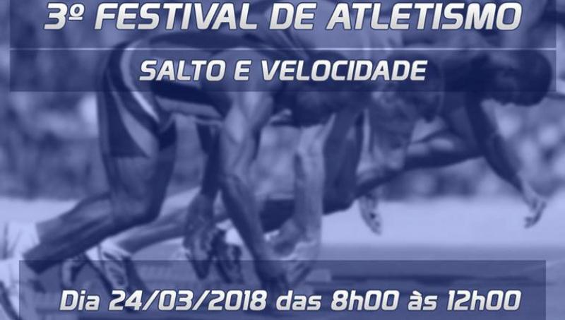 Festival de Atletismo será neste sábado no Pedro Sola