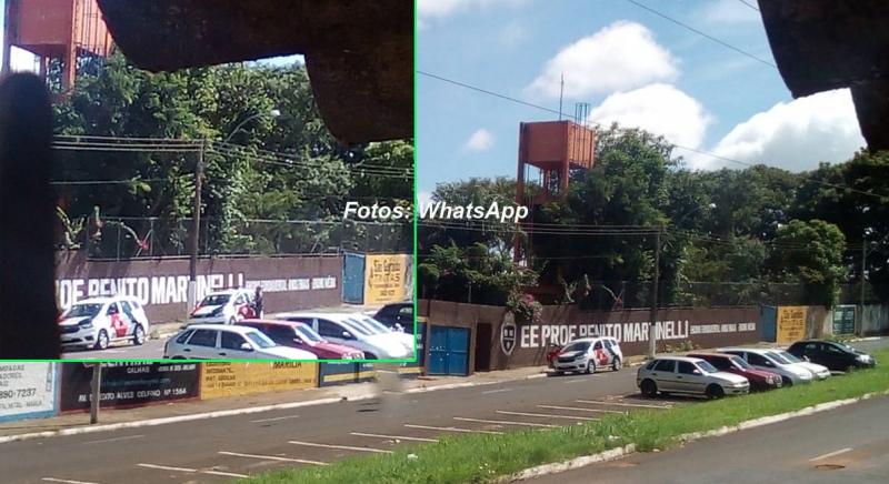 Confusão em escola da zona Norte mobiliza Polícia Militar