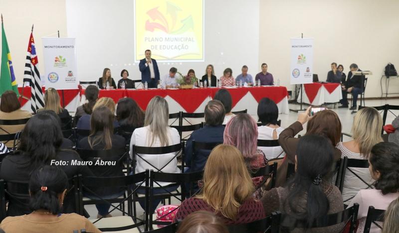 Mudanças no Plano Municipal de Educação em Marília são apresentadas