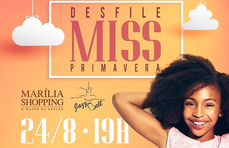Concurso Miss Primavera 2018 será nesta sexta-feira