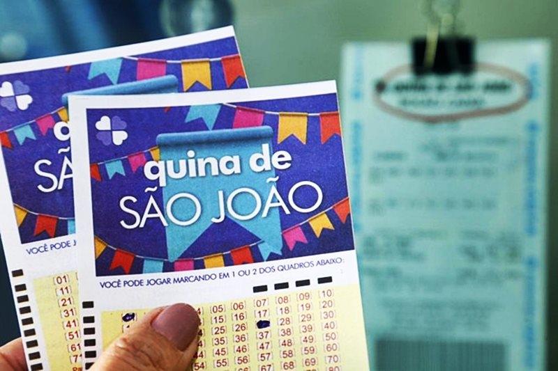 R$ 140 milhões da Quina de São João serão divididos por 1.577 pessoas
