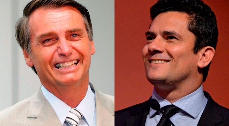 Sergio Moro pode aceitar convite de Bolsonaro para ir ao STF