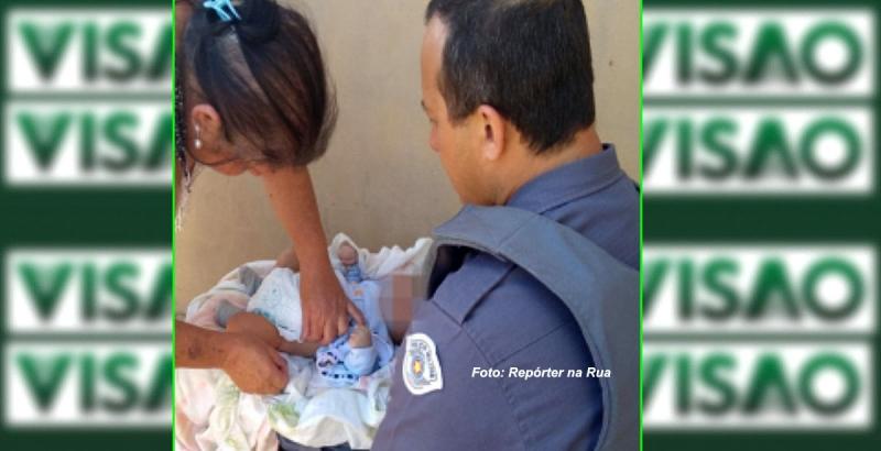 Mãe é presa após abandonar criança de dois meses para usar drogas