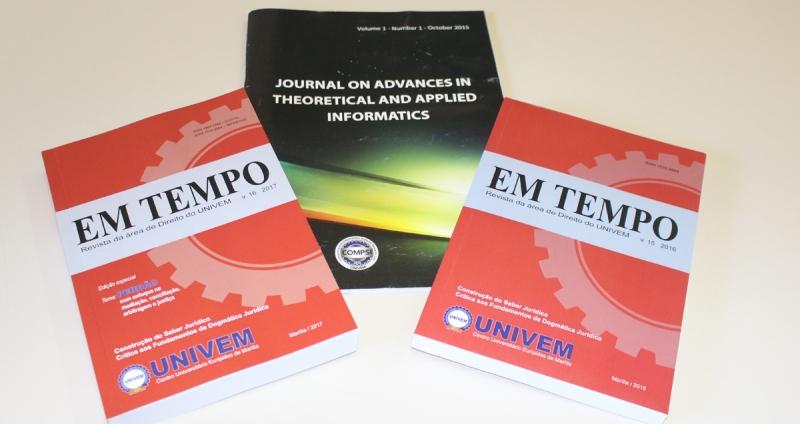IDENTIFICAÇÃO DIGITAL: periódicos do UNIVEM agora contam com registro DOI
