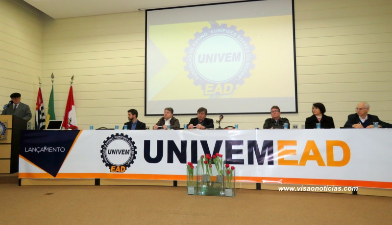 UNIVEM inova e lança cursos de graduação a distância