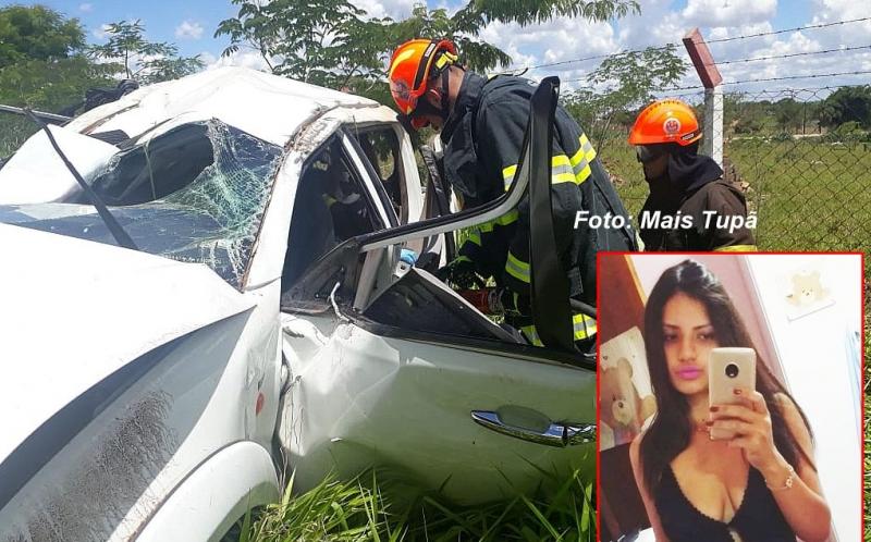 Moça de 21 anos morre em grave acidente na região
