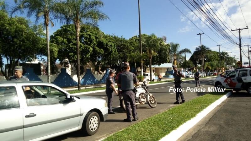Operação 24h da PM prende homem por assalto em Marília