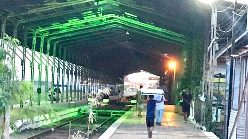 Arte, cultura, meio-ambiente: antiga estação ferroviária passa por revitalização
