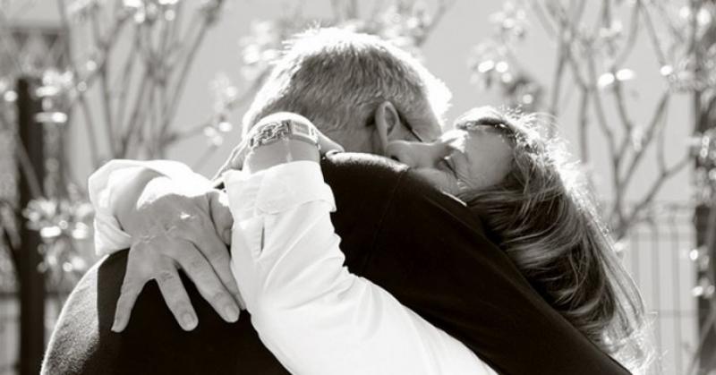O abraço é o gesto mais bonito que existe