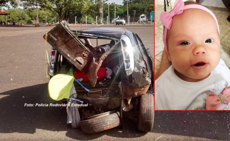 Tragédia: bebê de 3 meses morre após homem embriagado causar acidente na SP-333