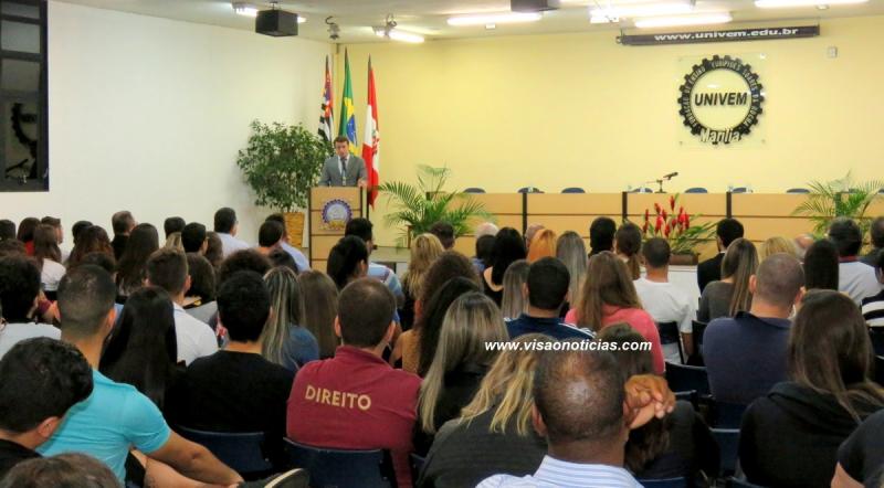 Procurador da Lava Jato faz palestra no Univem e destaca avanços no combate à corrupção