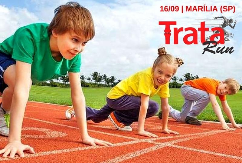 Corrida TRATA Run incentiva participação de crianças e jovens