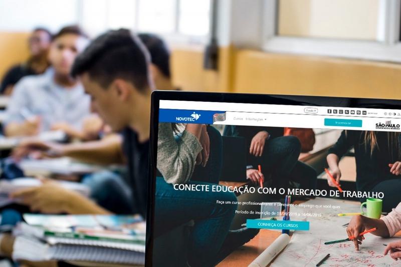 Novotec Virtual: inscrições abertas para cursos gratuitos a distância
