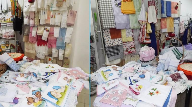 Voluntárias da APAE de Marília realizam bazar do Dia das Mães no Esmeralda Shopping