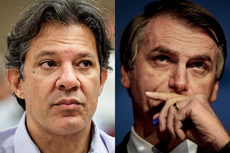 Haddad muda de ideia e parabeniza Bolsonaro