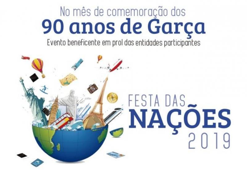 12ª Festa das Nações prossegue hoje em Garça
