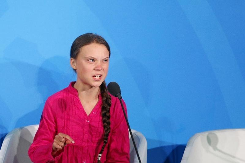 """Revista Time escolhe Greta Thunberg como """"Pessoa do Ano"""""""