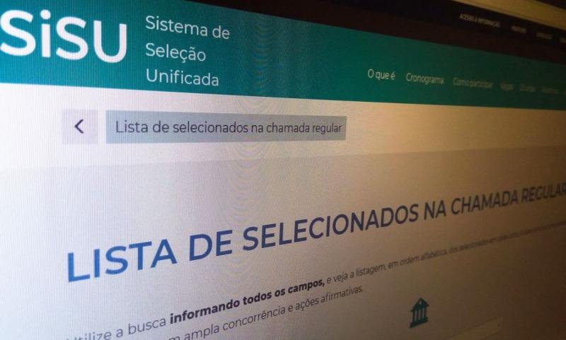 Sisu: MEC libera acesso ao resultado