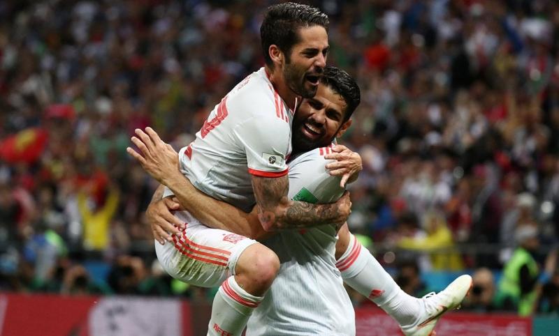 Espanha tem dificuldades contra o Irã, mas vence: 1 a 0