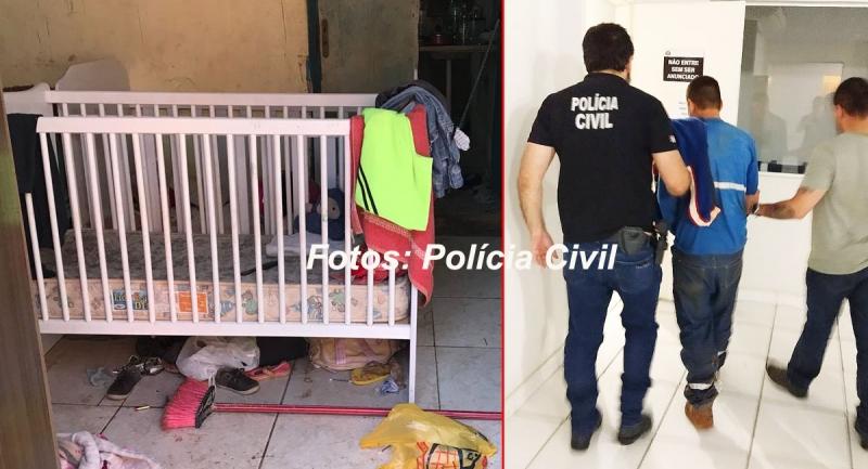 Homem é preso em Marília acusado de manter família presa em casa