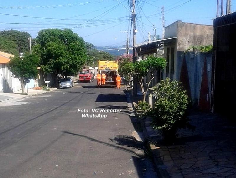 Após saída da Monte Azul, escala extra e caminhões da Prefeitura garantem coleta de lixo