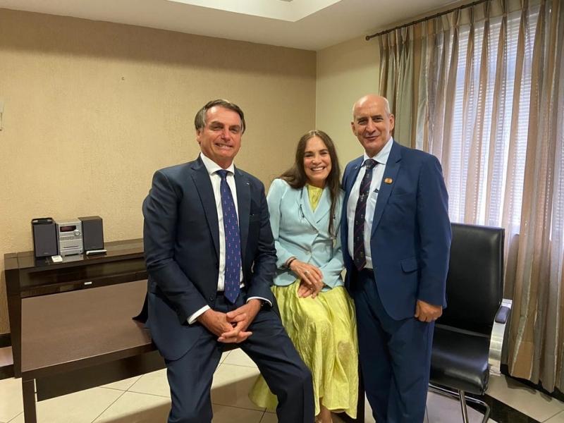 Regina Duarte fará teste na Secretaria de Cultura de Bolsonaro