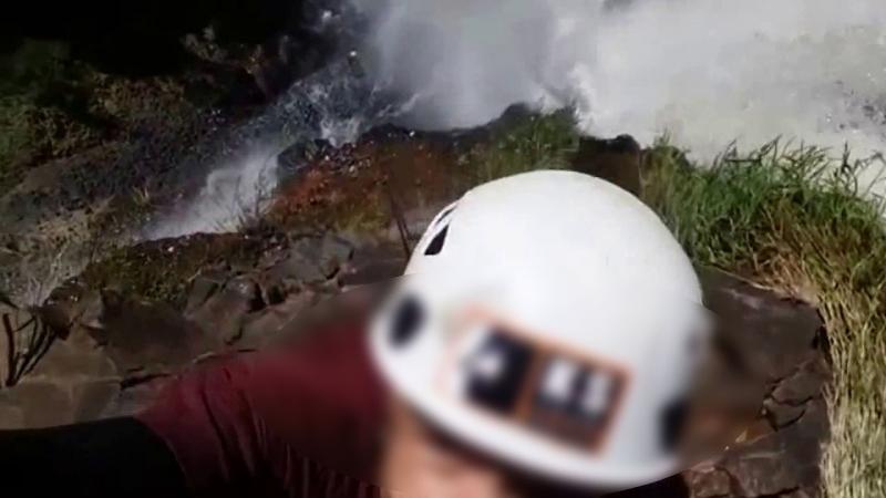 Mulher sofre acidente e morre durante em rapel em cachoeira na região