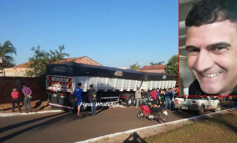 Caminhoneiro da região morre após acidente em Goiás