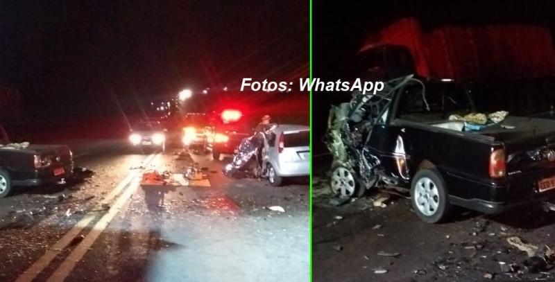 Acidente na SP-294 deixa dois mortos e mais dois passageiros feridos
