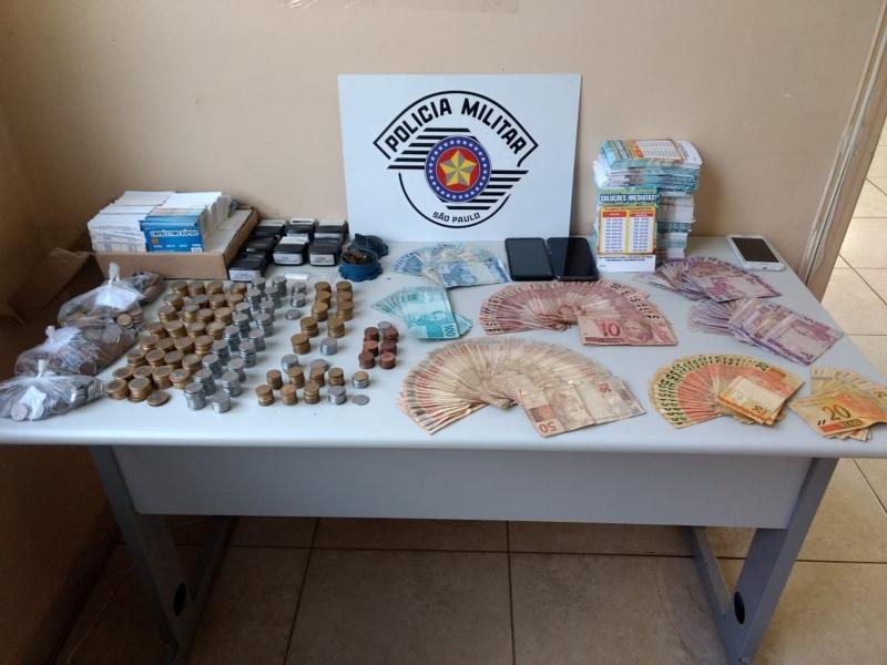 Colombianos são detidos na região com dinheiro por suspeita de agiotagem