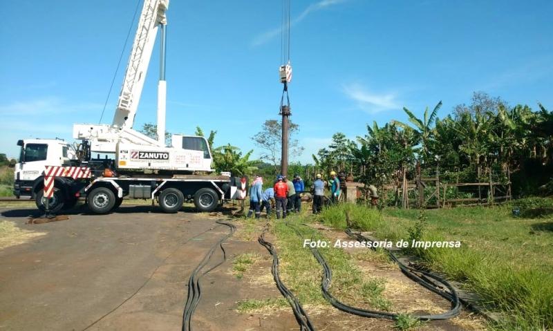 DAEM: troca de bomba de poço na zona norte termina nesta tarde