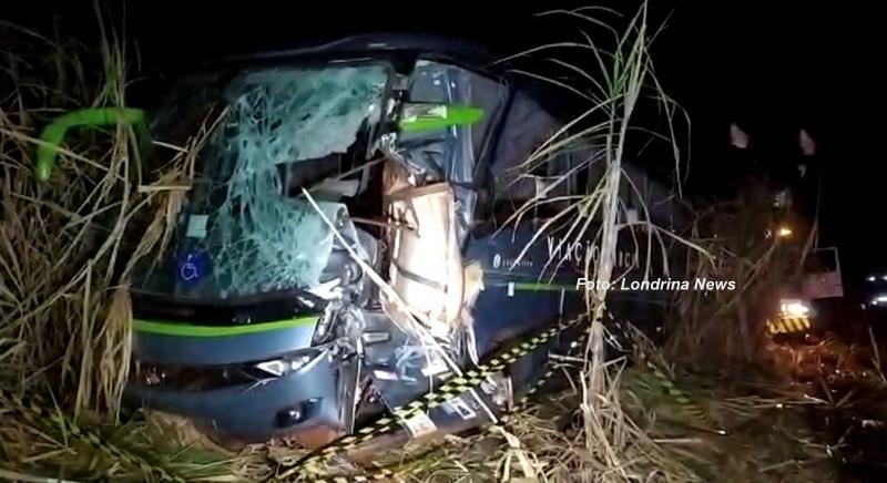 Motorista de ônibus da região morre em acidente no PR