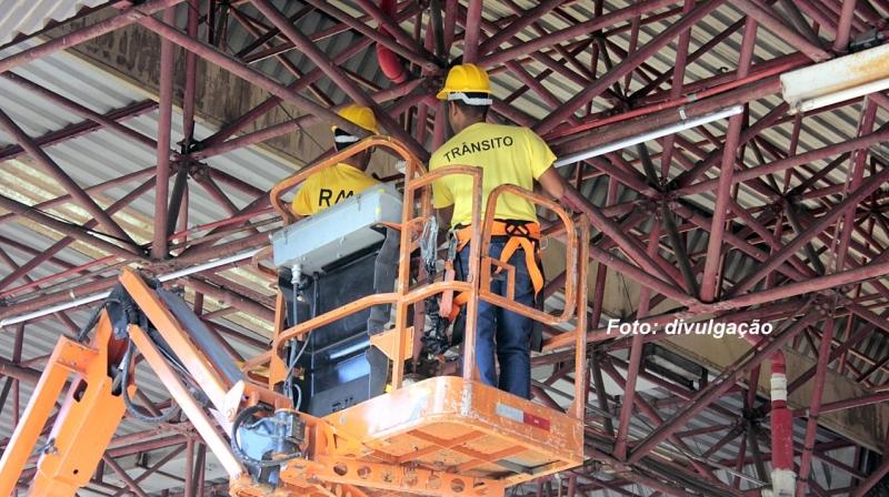 ÔNIBUS: Terminal Urbano de Marília ganha reformas e melhoria da iluminação