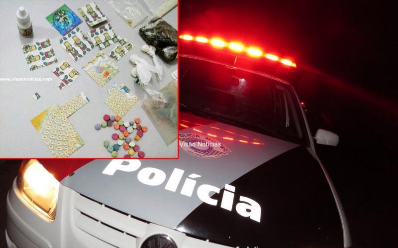 """Polícia Militar prende mais um condenado por vender drogas em """"festa de ricos"""""""