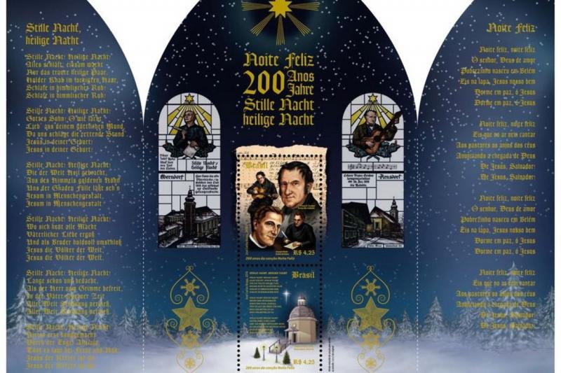Selo brasileiro é premiado melhor selo religioso de 2018 na Itália