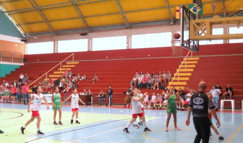 Basquete feminino Unimed: equipe Sub 11 da UNIJOVEM é destaque