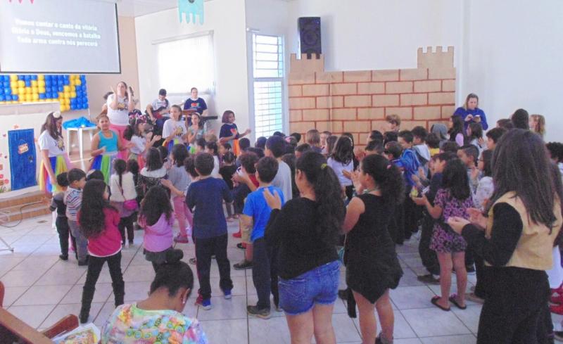 2ª IPB de Marília realiza Escola Bíblica de Férias para crianças de 4 a 10 anos